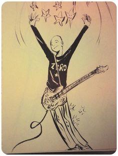 Billie Corgan by Gerard