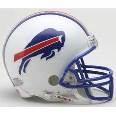 Buffalo Bills 1976 to 1983 Riddell Mini Throwback Helmet