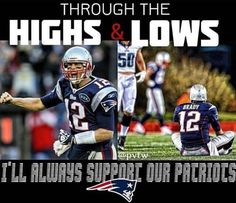 Always and forever faithful to my Patriots! #GoPats
