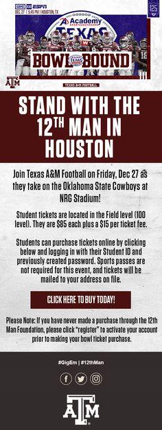 A&m Football, Oklahoma State Cowboys, Marketing Automation, Texas A&m, 12th Man, Thing 1 Thing 2, Espn