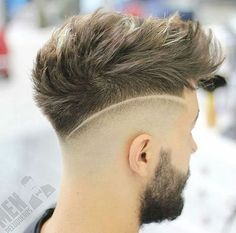 23 Low Fade Messy Hairstyles With Blade Marks