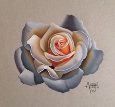 Rose Flower Tattoos, Flower Tattoo Designs, Colorful Flowers, Beautiful Flowers, Rosas Gif, Rose Reference, Rose Sketch, Geniale Tattoos, Rose Images