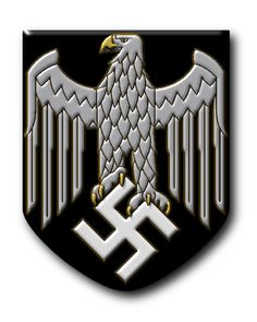 Heer (Army) Decal for Helmet 1942 - Third Reich © Copyright Peter Crawford 2013