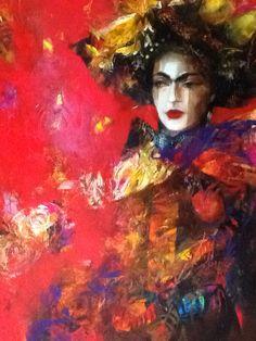 Viktorie Chaloupková Frida Khalo Painting, Art, Canvas