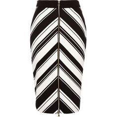 River Island Black stripe chevron print pencil skirt NOK) ❤ liked on… High Waisted Pencil Skirt, Printed Pencil Skirt, Printed Skirts, Pencil Skirts, Pencil Dresses, Black Chevron, Black Stripes, Black Tube Skirt, Pencil Skirt Tutorial