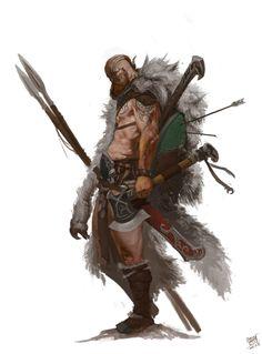 ArtStation - Warrior, NI Yipeng