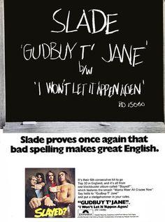 Slade #single #SlayedClassic #70s #GlamRock #Noddy #Jim #Dave #Don