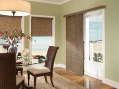 Choosing Window Treatments For Sliding Glass Doors Can Be A Bit Involved.  Here Are Six