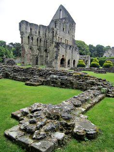 Wenlock Priory Ruins, Much Wenlock, Shropshire