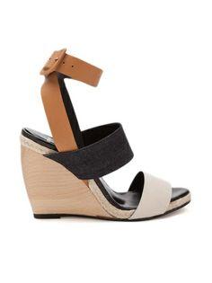 PIERRE HARDY Tricolor Sandal 650