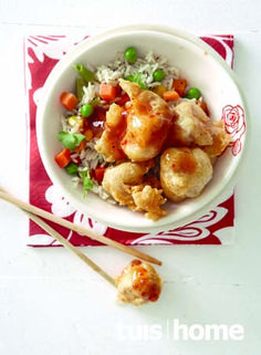 Kos, South African Recipes, Ethnic Recipes, Dessert Recipes, Desserts, Chinese Food, Potato Salad, Bacon, Recipies