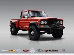 Jeep Wagoneer, Jeep Willys, Jeep Xj, Jeep Pickup, Jeep Truck, Cool Trucks, Cool Cars, 4x4, Beginner Sketches