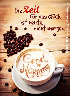 Postkarten - Kaffee. Good Morning!