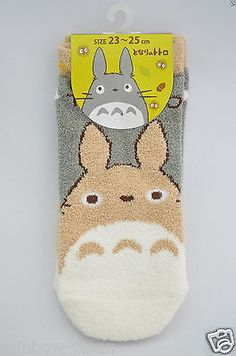 My Neighbor Totoro fukusuke Socks 1pair 23 -25 cm Studio Ghibli Women's JAPAN 05