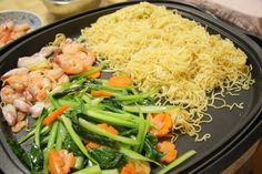 Mỳ xào hải sản « Bếp Rùa ♥ Hơi ấm gia đình tỏa ra từ gian bếp nhỏ