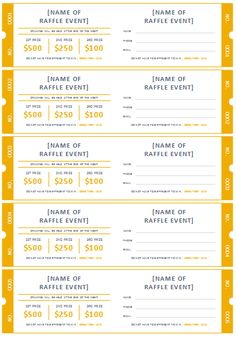 15 free raffle ticket templates follow these steps to create your free printable raffle ticket templates maxwellsz