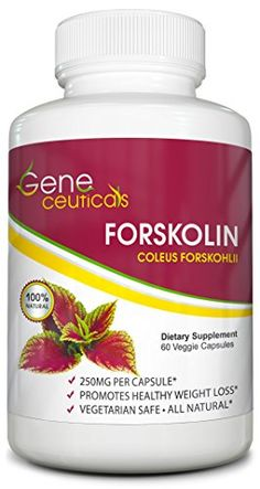 Geneceuticals Forsklin Weight Loss Supplement  60 Vegetarian Capsules * Click on the image for additional details.Note:It is affiliate link to Amazon.