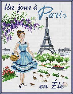 Un jour Paris en Ete