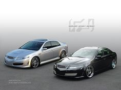 Best Acura TL Modification Images On Pinterest In Acura Tl - Acura tl 2006 custom