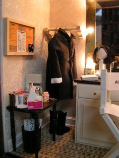 Professor Snape's/Alan Rickman's dressing room