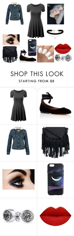"""""""Mini Dress"""" by teenaged-aliens ❤ liked on Polyvore featuring Doublju, Tabitha Simmons, Marc by Marc Jacobs, Bling Jewelry and ASOS"""