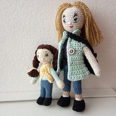 Háčkované panenky Crochet Dolls, Teddy Bear, Toys, Animals, Activity Toys, Animales, Animaux, Toy, Teddybear