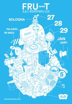 Poster Main creativity @fruitexhibition  Bologna 27/29-01-2017