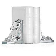 $79 USD Diamond Bookends | Books & Stationery | Novelty | Decor | Z Gallerie