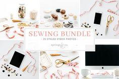 Sewing Stock Photo Bundle