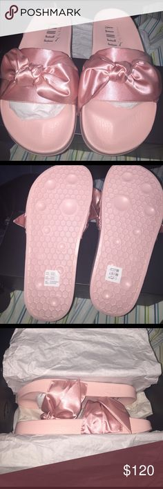 Rihanna Fenty Slippers Brand New Authentic Rihanna Pumas. Comes with box & dust bag Puma Shoes Slippers