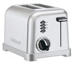 2. Cuisinart CPT-160 Metal Classic 2-Slice Toaster, Brushed Stainless