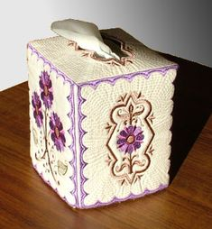 machine embroidery projects | new projects project tissue box project project on youtube