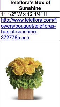 sponsored floral arrangement