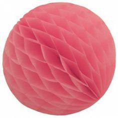 Rosa papirbold - yndig pynt til fest og af hjemmet
