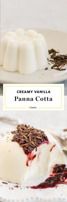 Creamy Vanilla Panna Cotta Recipe. This Classic and traditional Italian dessert is surprisingly easy to make! One of the best  no bake desserts for valentine's day Easter or spring.