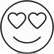 Full Emoji Face Coloring Pages Coronary Heart 125 Desenho De