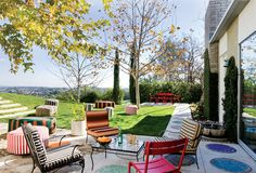 Summer Fun! 21 Relaxing Colorful Outdoor Spaces   Home Design Lover