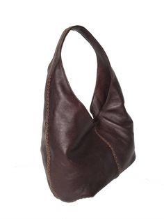 Unique Leather Hobo Bag with Braided Design, Ladies Purses, Fashion Handbags, Alison