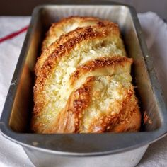 This Coconut Custard Babka recipe is featured in the Hanukkah Baking feed along with many more. Just Desserts, Delicious Desserts, Dessert Recipes, Yummy Food, Bread Recipes, Baking Recipes, Food52 Recipes, Jewish Bread, Coconut Custard