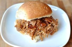 The best (and easiest!) BBQ pulled pork sandwiches EVER. Plus, the recipe includes directions for the slow cooker or the Instant Pot! BBQ pulled pork sandwiches rank right up there with some of my husband's Sandwiches, Pork Sandwich, Sandwich Recipes, Sandwich Ideas, Slow Cooker Bbq, Slow Cooker Recipes, Cooking Recipes, Crockpot Meals, Freezer Meals