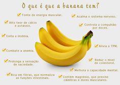 Saúde um desafio: Conheça os benefícios da banana para a saúde