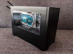 http://www.indiegogo.com/projects/ncase-m1-prototype-a-mini-itx-case        If it has been...
