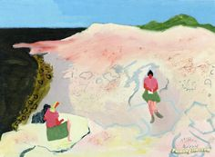 Sketchers by the Sea Artwork by Milton Avery Hand-painted and Art Prints on…