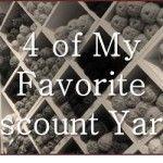 4 of my favorite discount Yarns