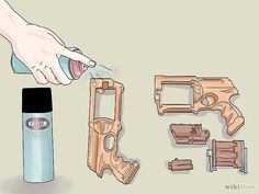 Painting Nerf Guns - 8 steps