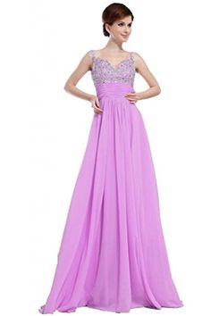 JAEDEN Elegant Beaded Long Bridesmaid Evening Dresses Chiffon Party Prom Gowns Lavendar US2 JAEDEN http://www.amazon.com/dp/B00QBY2P7U/ref=cm_sw_r_pi_dp_MVcxvb0466D66