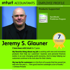 Jeremy supports ProAdvisors and can recite ancient Chinese Proverbs...What more can we say about him.