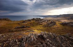 Полуостров Рыбачий,  Мурманская область.