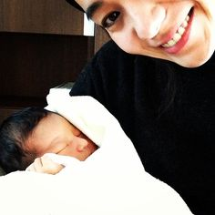 Instagram media by renatakeshita - 妹が無事に産まれました