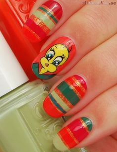 Easter Nail Art, via Flickr.